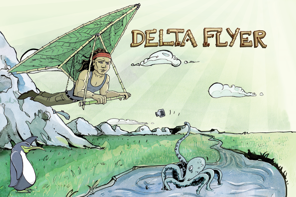 Screenshot DeltaFlyer Lite
